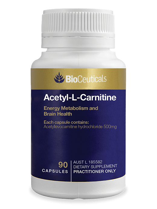 Bioceuticals Acetyl L-Carnitine 90 caps Supplement Bioceuticals Pty Ltd