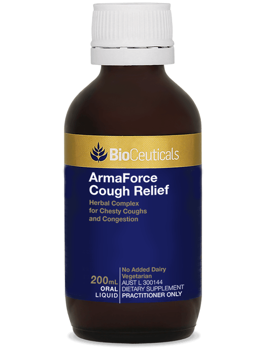Bioceuticals Armaforce Cough Relief Supplement Bioceuticals Pty Ltd