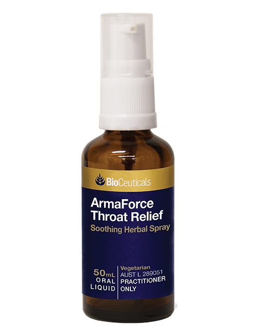 Bioceuticals Armaforce Throat Relief Supplement Bioceuticals Pty Ltd