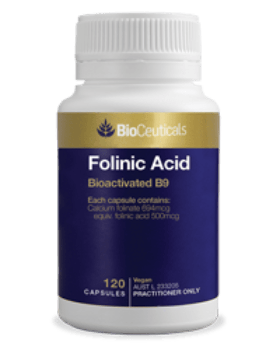 Bioceuticals Folinic acid Supplement Bioceuticals Pty Ltd