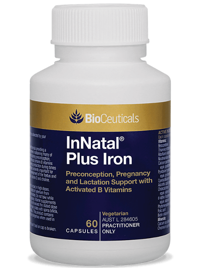 Bioceuticals InNatal Plus Iron Supplement Bioceuticals Pty Ltd