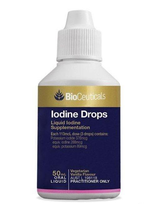 Bioceuticals Iodine Drops Supplement Bioceuticals Pty Ltd
