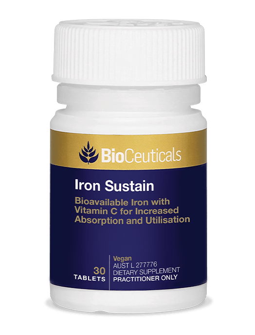 Bioceuticals Iron Sustain Supplement Bioceuticals Pty Ltd