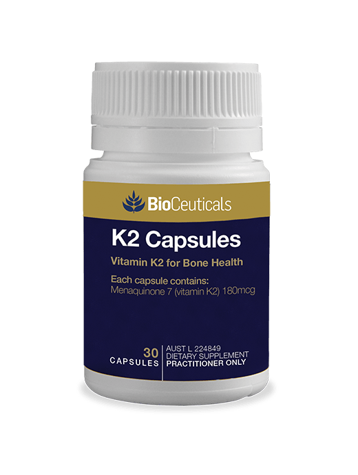 Bioceuticals K2 Capsules Supplement Bioceuticals Pty Ltd