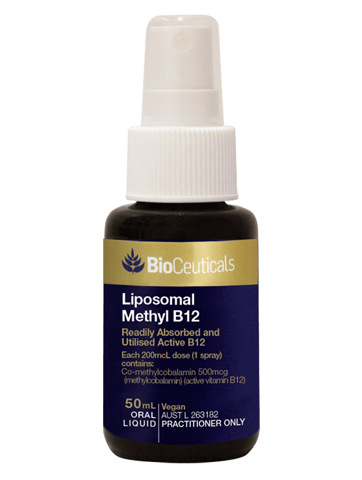 Bioceuticals Liposomal Methyl B12 Supplement Bioceuticals Pty Ltd