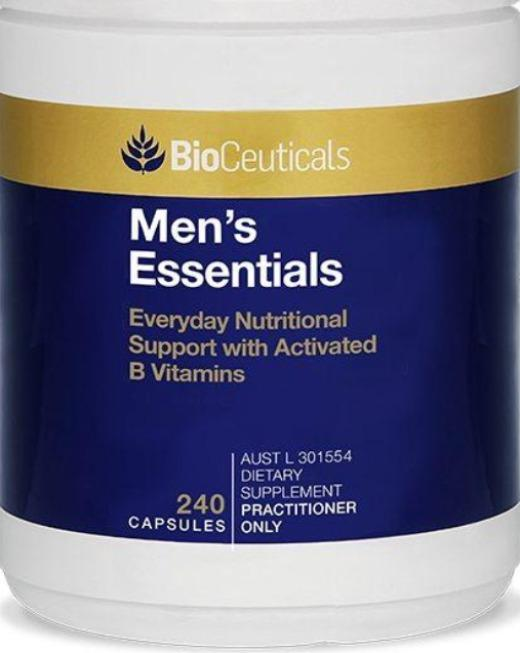Bioceuticals Men's Essentials Supplement Bioceuticals Pty Ltd