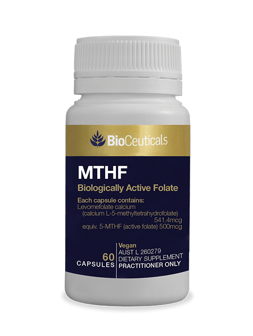 Bioceuticals MTHF Active Folate Supplement Bioceuticals Pty Ltd