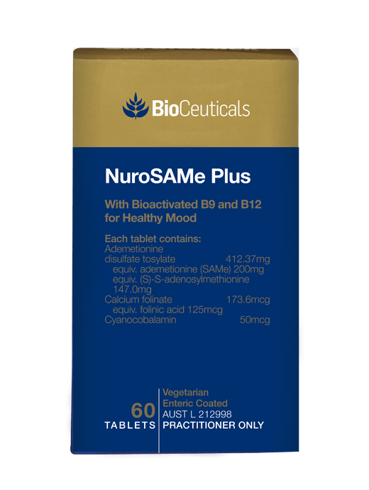 Bioceuticals NuroSAMe Plus Supplement Bioceuticals Pty Ltd