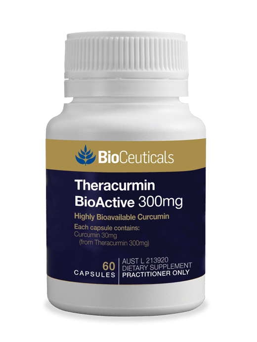 Bioceuticals Theracurmin BioActive 300mg Supplement Bioceuticals Pty Ltd