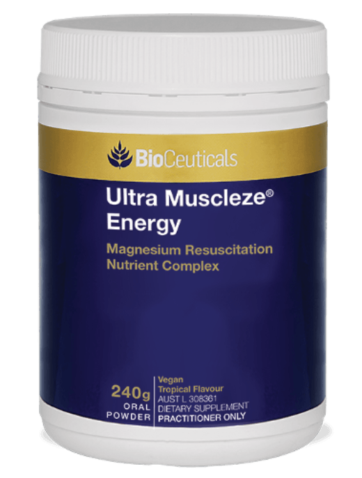 Bioceuticals Ultra Muscleze Energy Supplement Bioceuticals Pty Ltd