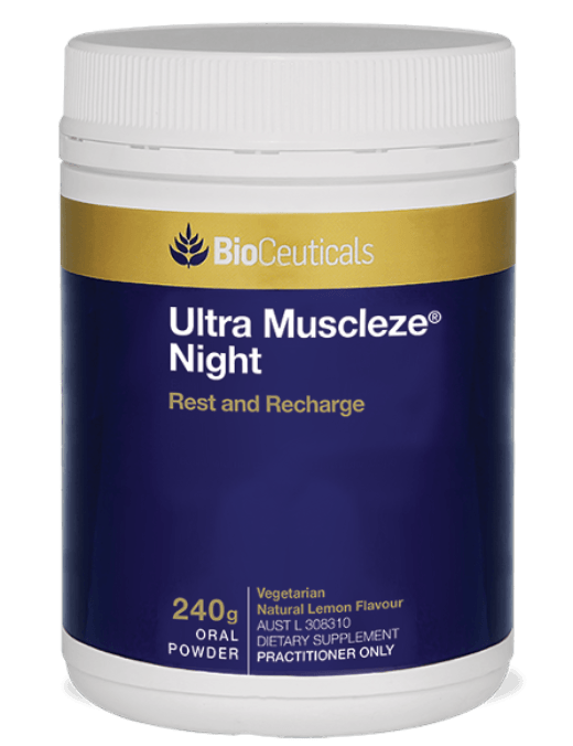 Bioceuticals Ultra Muscleze Night Supplement Bioceuticals Pty Ltd