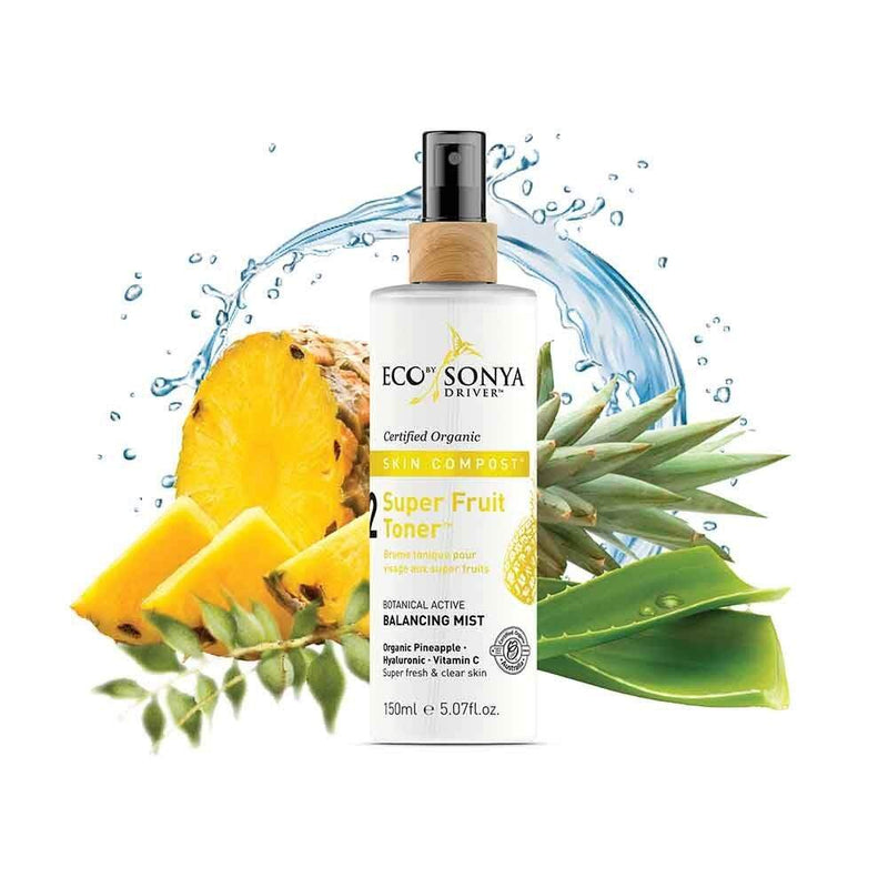 Eco By Sonya Skin Compost Super Fruit Toner Natural Skincare Eco Tan Pty Ltd