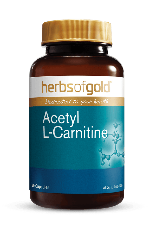 Herbs of Gold Acetyl L-Carnitine Supplement Herbs of Gold Pty Ltd