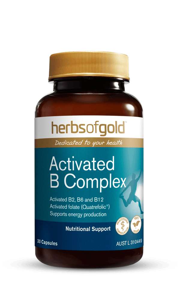 Herbs of Gold Activated B Complex Supplement Herbs of Gold Pty Ltd