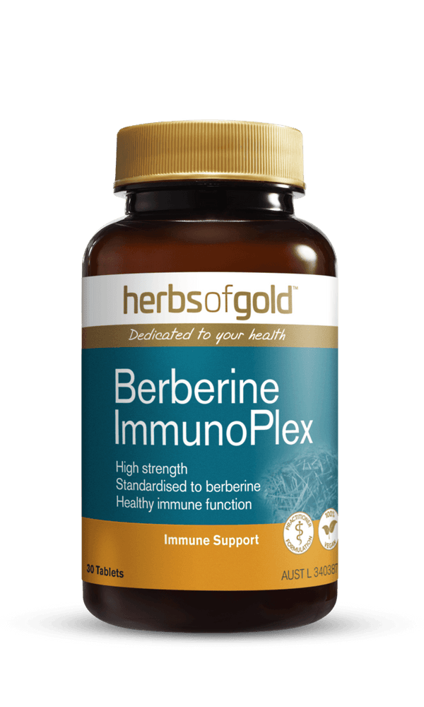 Herbs of Gold Berberine ImmunoPlex Supplement Herbs of Gold Pty Ltd