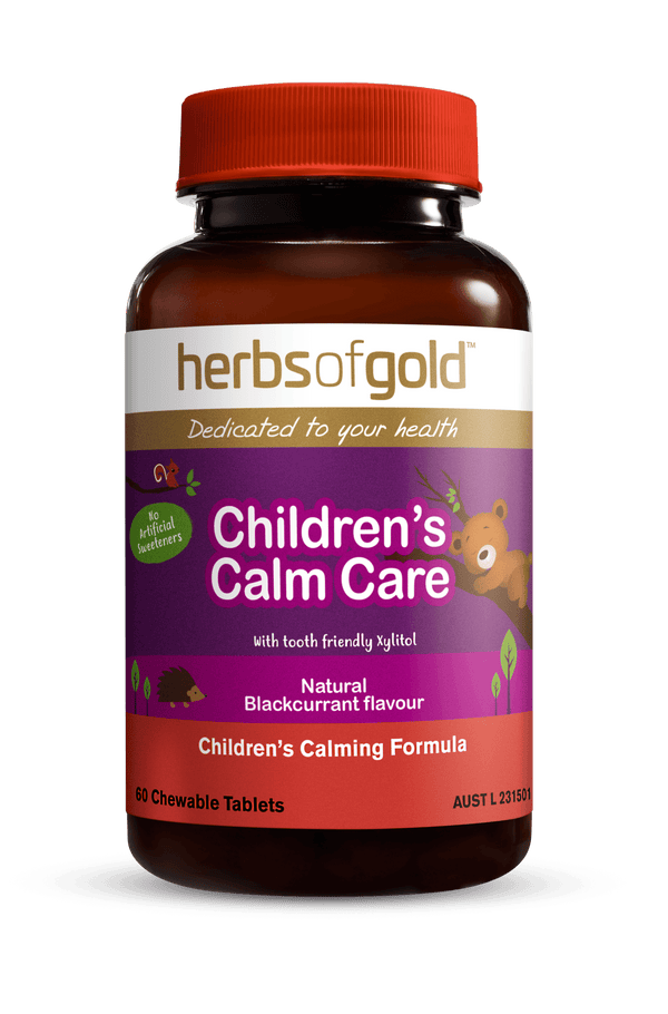 Herbs of Gold Children's Calm Care Supplement Herbs of Gold Pty Ltd