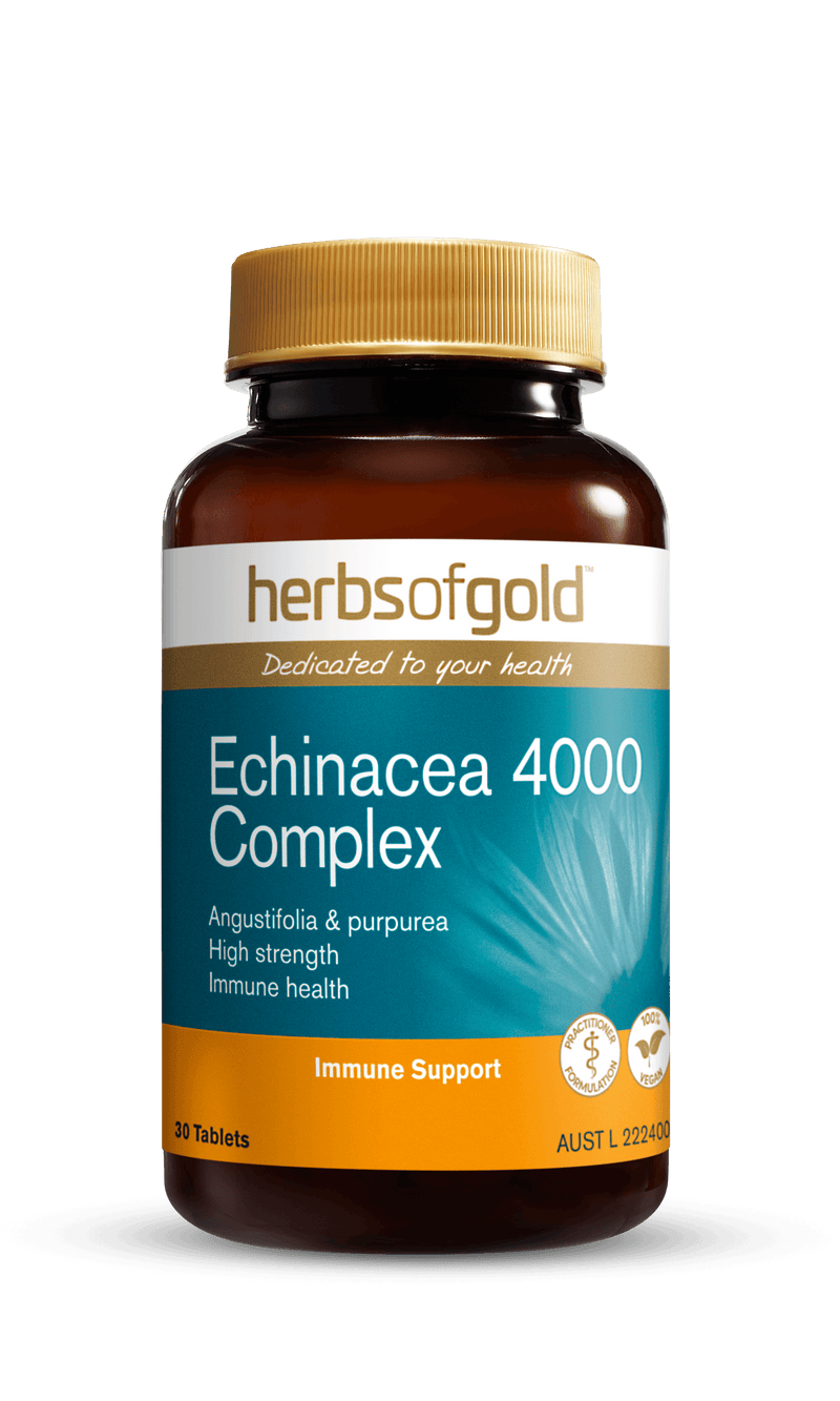 Herbs of Gold Echinacea 4000 Complex Supplement Herbs of Gold Pty Ltd