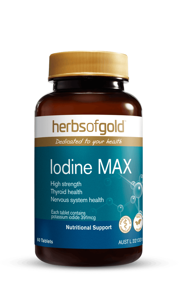 Herbs of Gold Iodine Max Supplement Herbs of Gold Pty Ltd