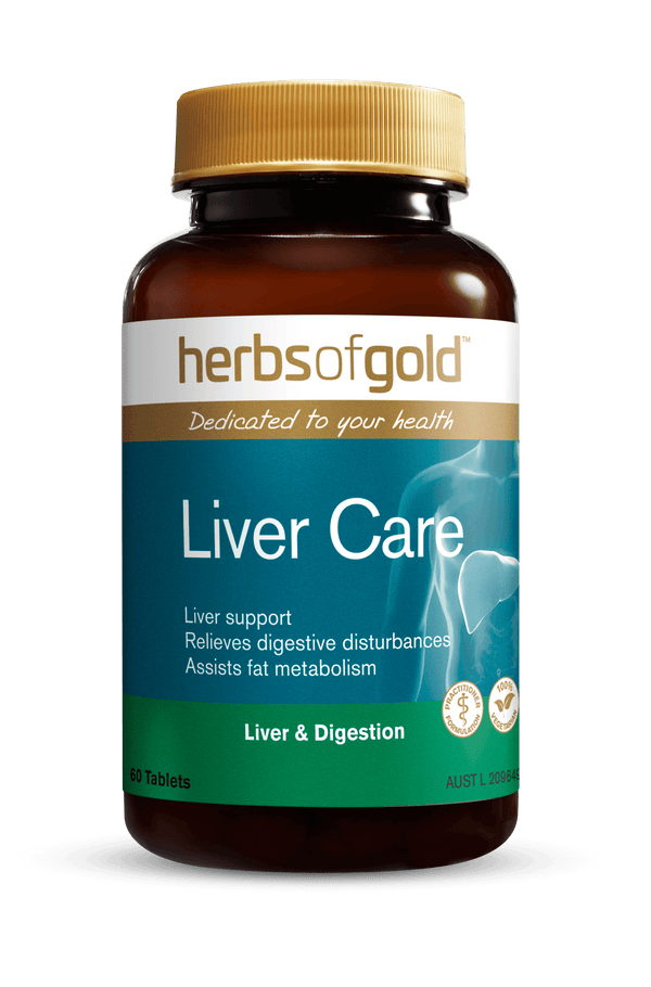 Herbs of Gold Liver Care Supplement Herbs of Gold Pty Ltd