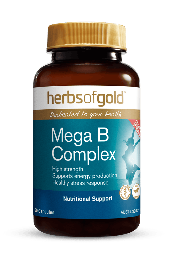 Herbs of Gold Mega B Complex Supplement Herbs of Gold Pty Ltd