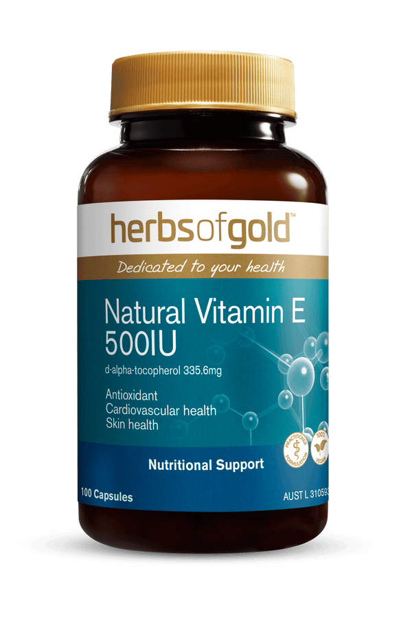 Herbs of Gold Natural Vitamin E Supplement Herbs of Gold Pty Ltd