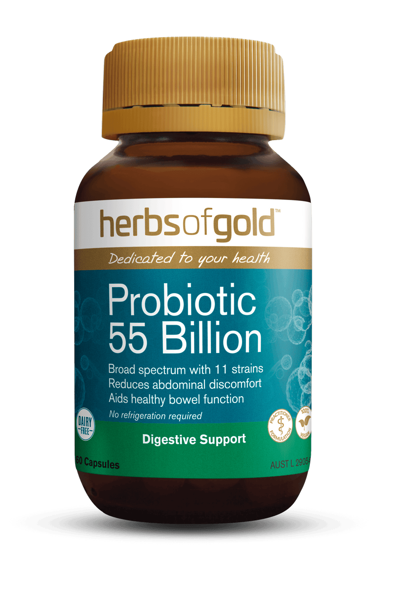 Herbs of Gold Probiotic 55billion Supplement Herbs of Gold Pty Ltd