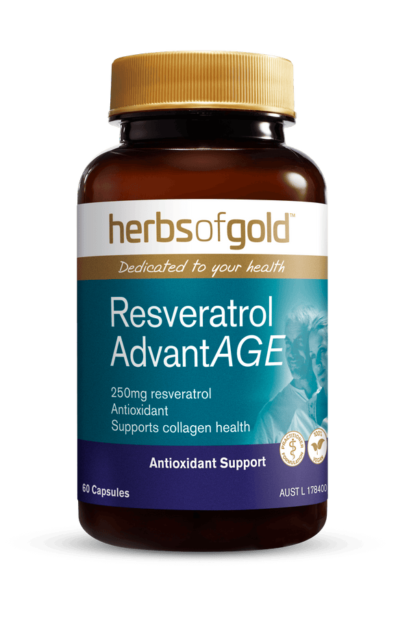 Herbs of Gold Resveratrol AdvantAGE Supplement Herbs of Gold Pty Ltd