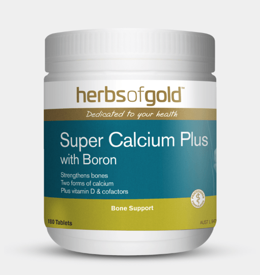 Herbs of Gold Super Calcium Plus with Boron Supplement Herbs of Gold Pty Ltd