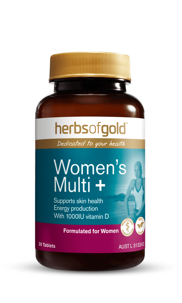 Herbs of Gold Women's Multi + Supplement Herbs of Gold Pty Ltd