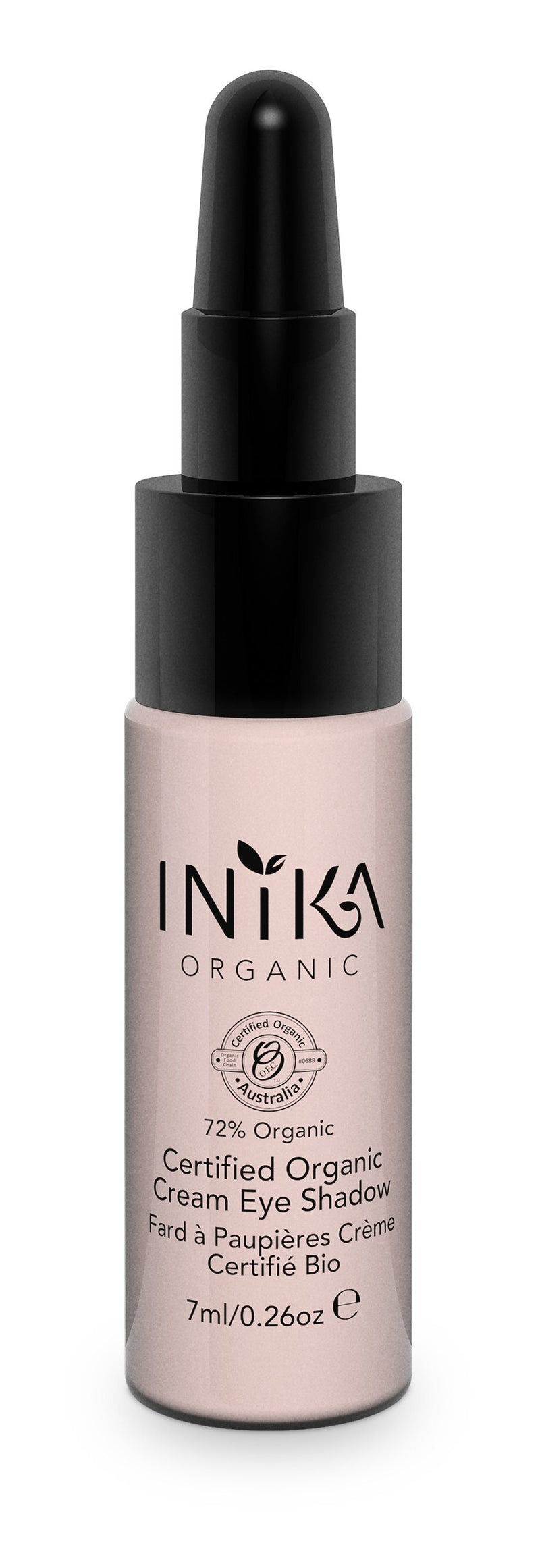 Inika Certified Organic Cream Eye Shadow Natural Makeup Total Beauty Network Pink Cloud