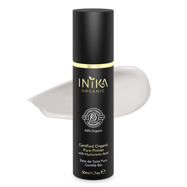 Inika Certified Organic Pure Primer with Hyaluronic Acid Natural Makeup Total Beauty Network