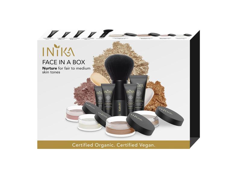 Inika Face In A Box Natural Makeup Total Beauty Network Nurture