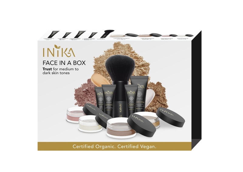 Inika Face In A Box Natural Makeup Total Beauty Network Trust