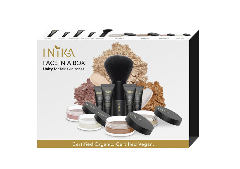 Inika Face In A Box Natural Makeup Total Beauty Network Unity