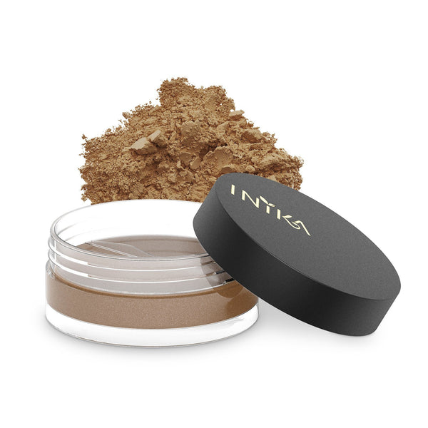 Inika Loose Mineral Bronzer Natural Makeup Total Beauty Network 3.5g Sunkissed