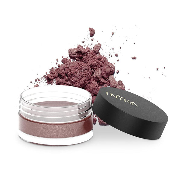Inika Loose Mineral Eye Shadow Natural Makeup Total Beauty Network Autumn Plum
