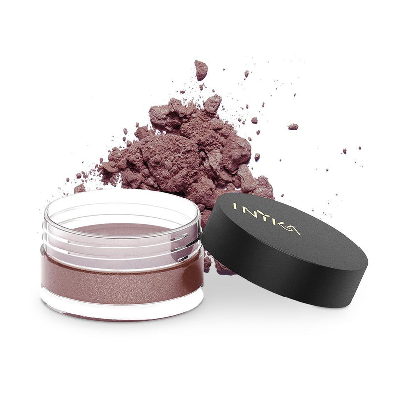 Inika Loose Mineral Eye Shadow Natural Makeup Total Beauty Network Burnt Sienna