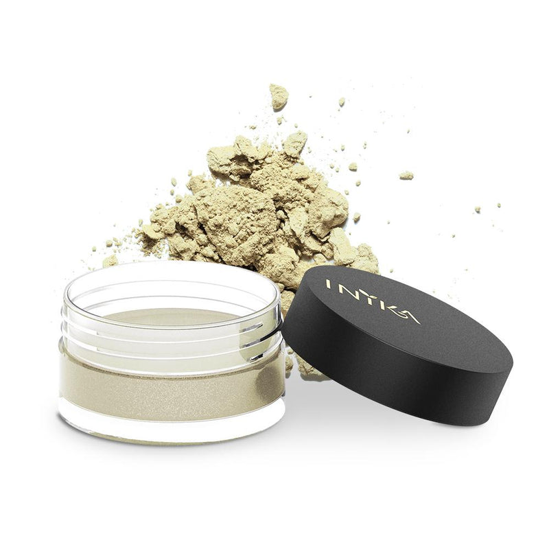 Inika Loose Mineral Eye Shadow Natural Makeup Total Beauty Network Gold Dust
