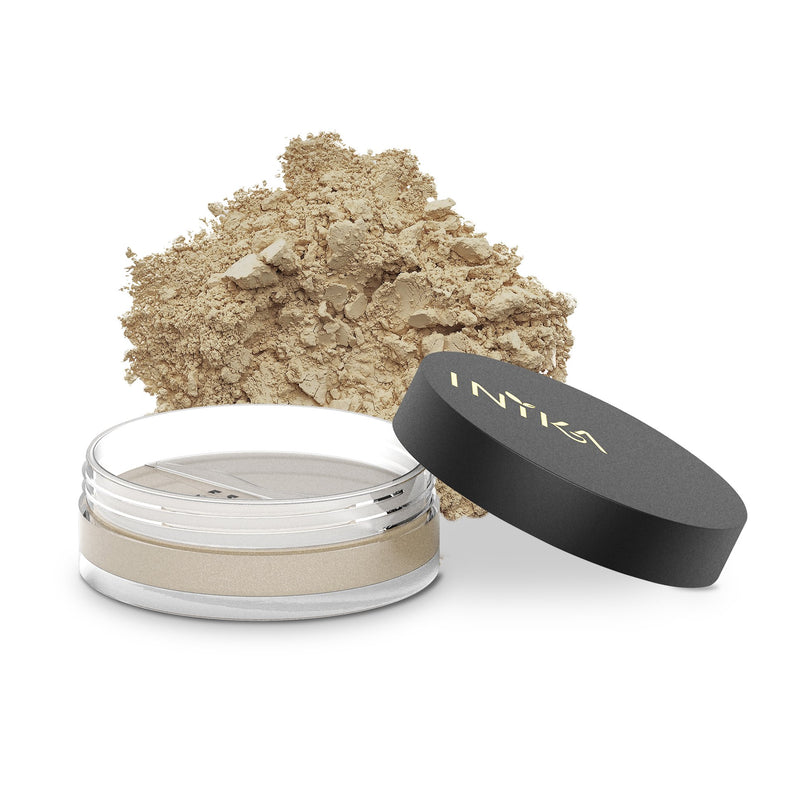 Inika Loose Mineral Foundation SPF25 Natural Makeup Total Beauty Network 8g Strength