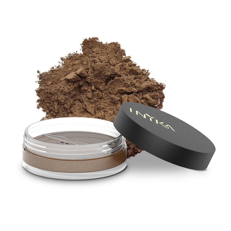 Inika Loose Mineral Foundation SPF25 Natural Makeup Total Beauty Network 8g Wisdom