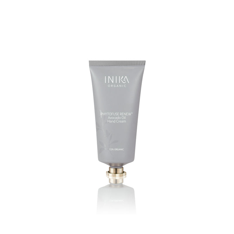 Inika Phytofuse Renew Avocado Oil Hand Cream Natural Skincare Total Beauty Network