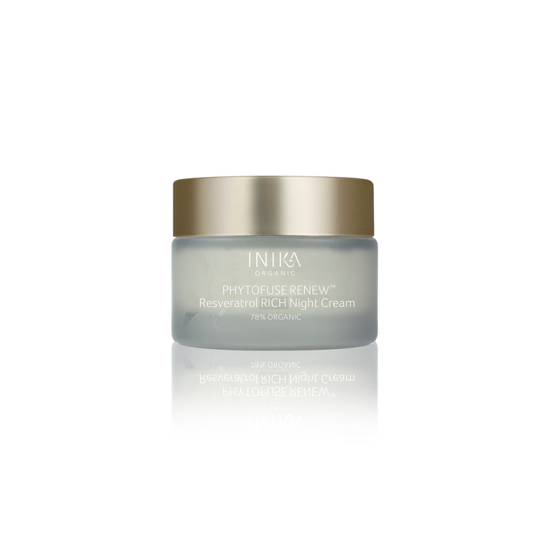 Inika Phytofuse Renew Resveratrol Rich Night Cream Natural Skincare Total Beauty Network