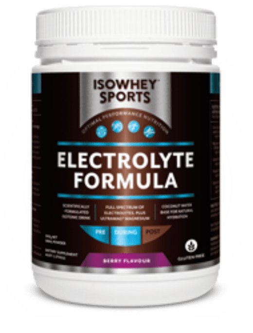 IsoWhey Sports Electrolyte Formula Supplement Bioceuticals Pty Ltd