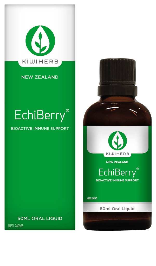KiwiHerb EchiBerry Immune Support Supplement Oborne Health Supplies