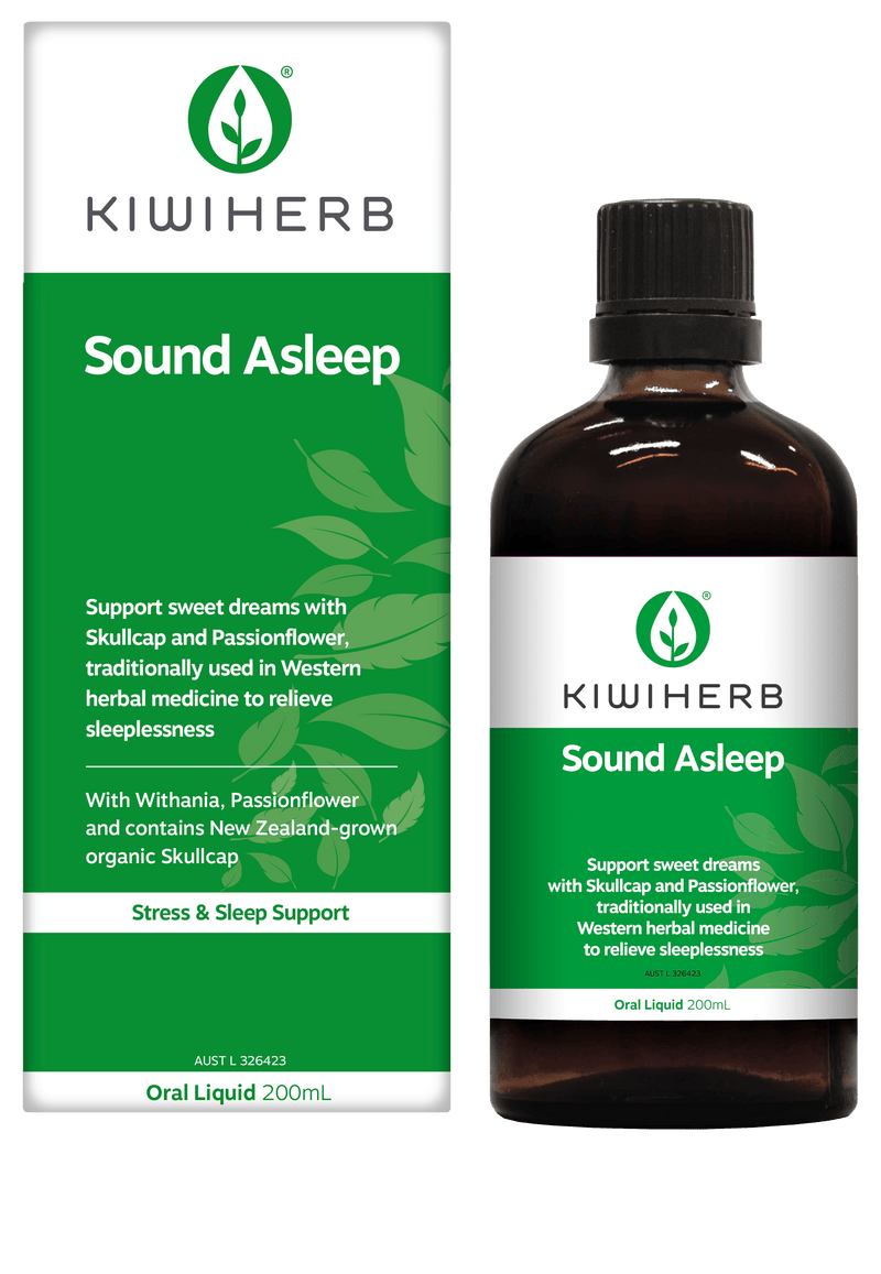 KiwiHerb Sound Asleep Supplement Oborne Health Supplies