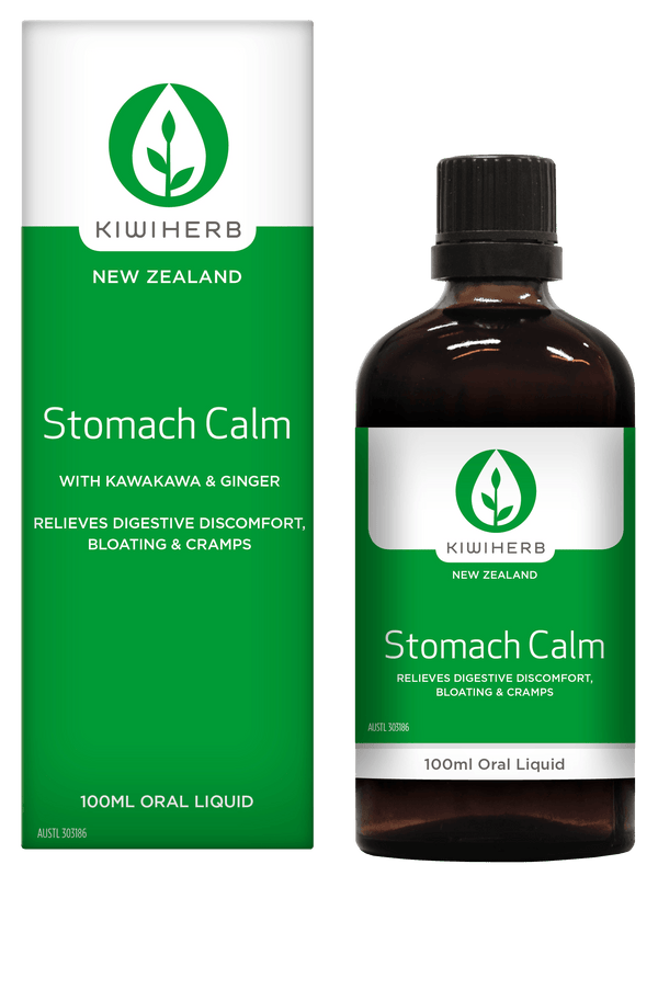 KiwiHerb Stomach Calm Supplement Oborne Health Supplies