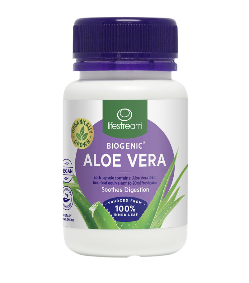 Lifestream Biogenic® Aloe Vera Capsules Supplement Integria Health Care 60 caps