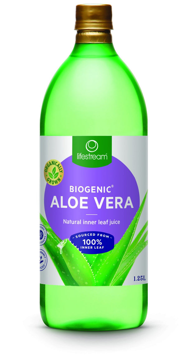 Lifestream Biogenic® Aloe Vera Digestive Tonic Juice Supplement Integria Health Care 1.25L