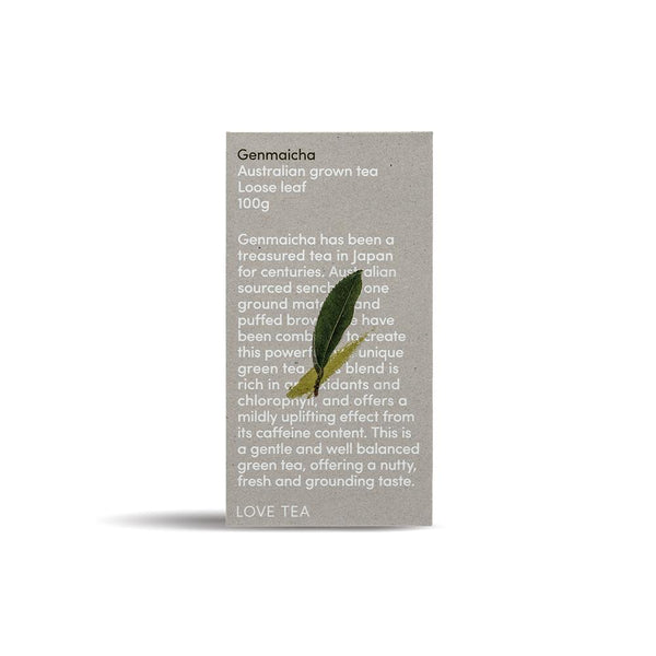 Love Tea Genmaicha Herbal Teas Oborne Health Supplies