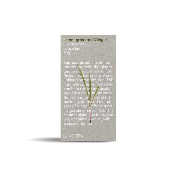 Love Tea Lemongrass & Ginger Beverages Love Tea 75g 1